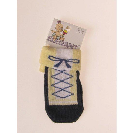 Чорапки в синьо и жълто