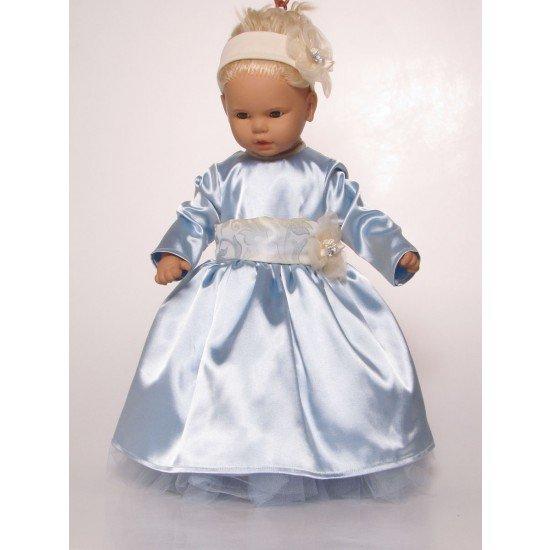 Официална рокличка в синьо