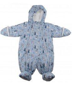 "Ескимос ""Снежко"" в светло синьо (размери от 56 см до 86 см)"