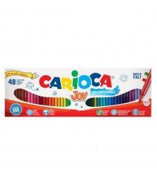 CARIOCA Флумастери JOY 48 броя, 31 цвята