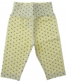 """Бебешки клин """"Точица"""" в жълто (размери от 62 см до 80 см)"""