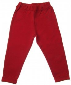 "Панталон ""Кристи"" в червено"