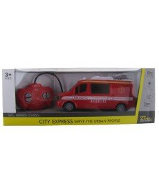 HAPPY TOYS - Пожарна с дистанционно управление