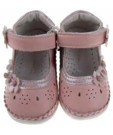"""Отворени обувки """"Криси"""" в розово"""