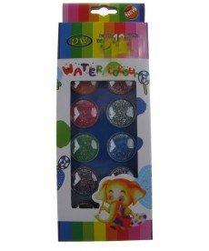 Водни боички с брокат 12 цвята