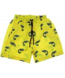 """Шорти за плуване """"Гущерче"""" в жълто Е4517105А"""