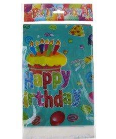 "Покривка ""Happy Birthday"" в зелено"