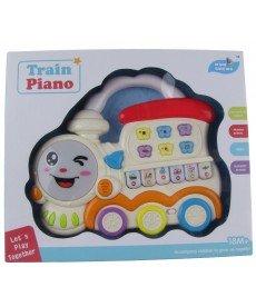 Музикална играчка Влакче-пиано