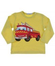 "Блуза ""Пожарна"" в жълто"