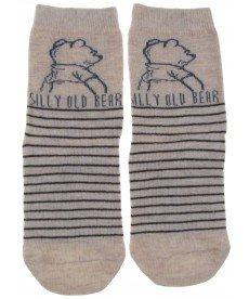 "Чорапи ""Мечо Пух"" в бежово"
