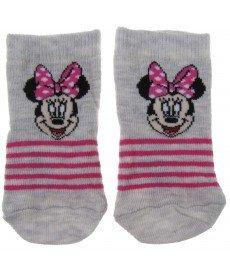 """Чорапи """"Мини"""" в сиво"""