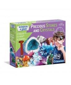 CLEMENTONI Направи си сам скъпоценни камъни и кристали