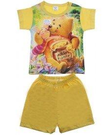 Лятна пижама 'Мечо Пух' в жълто ( размери от 86см.до 92см.)