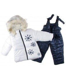 """Грейка """"Снежи"""" в бяло (размери от 80 см до 128 см)"""