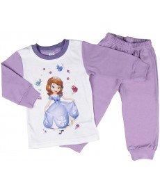 """Пижама """"Принцеса София"""" в лилаво (размери от 80 см до 92 см)"""