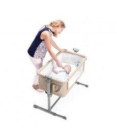 Бебешка кошара KinderKraft Neste, бежово