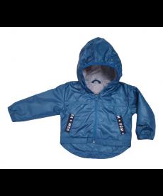 """Тънко пролетно яке """"Емо"""" в петролено синьо Е1497469М"""