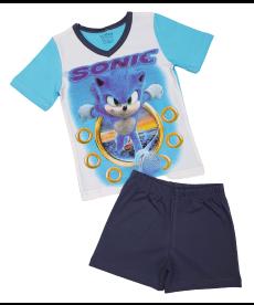 "Лятна пижама ""Соник"" в електрин син и графит P6644100A"