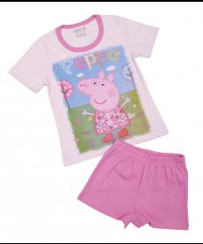 """Лятна пижама """"Пепа Пиг"""" в розово P9594129A"""