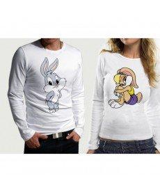 Комплект блузи за влюбени - вариант 26