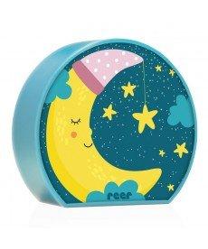 Нощна лампа Reer MyBabyLight Moon, 52063