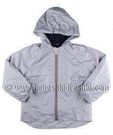 """Пролетно яке """"Радина"""" в светло сиво (размери от 86 см до 128 см)"""